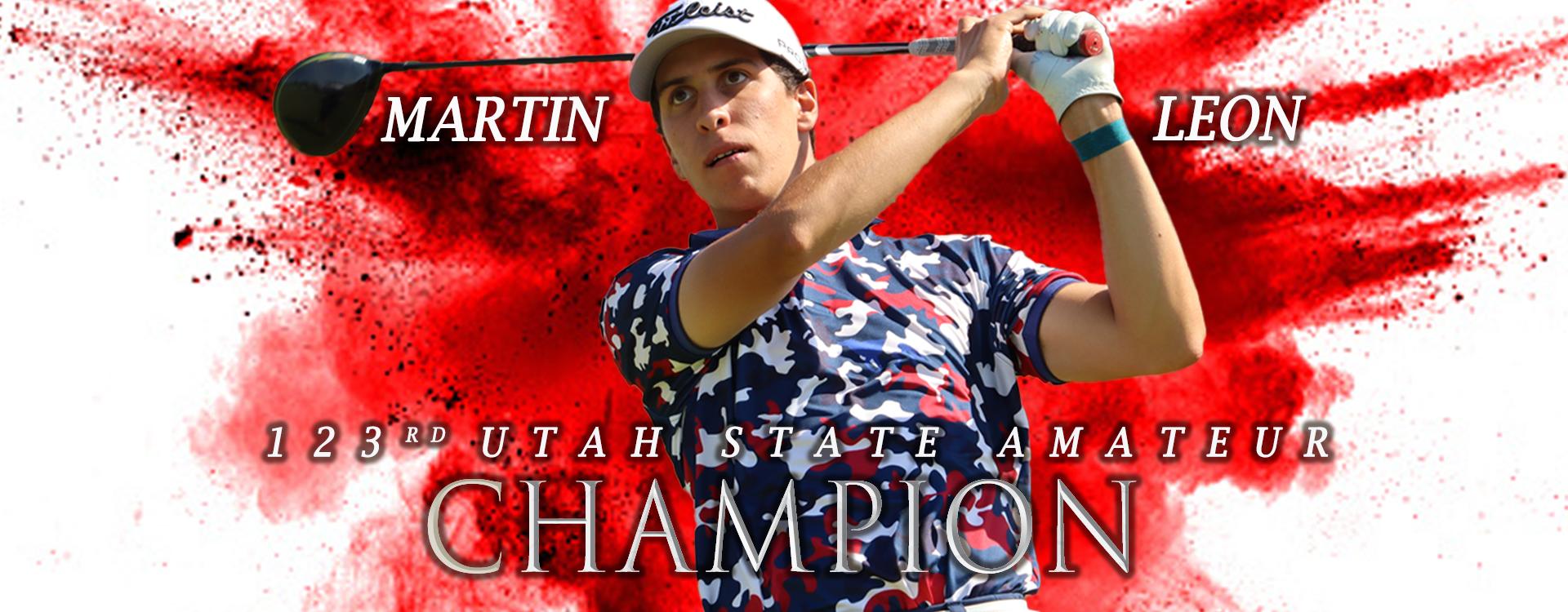 Martin Leon Utah State Am Champion
