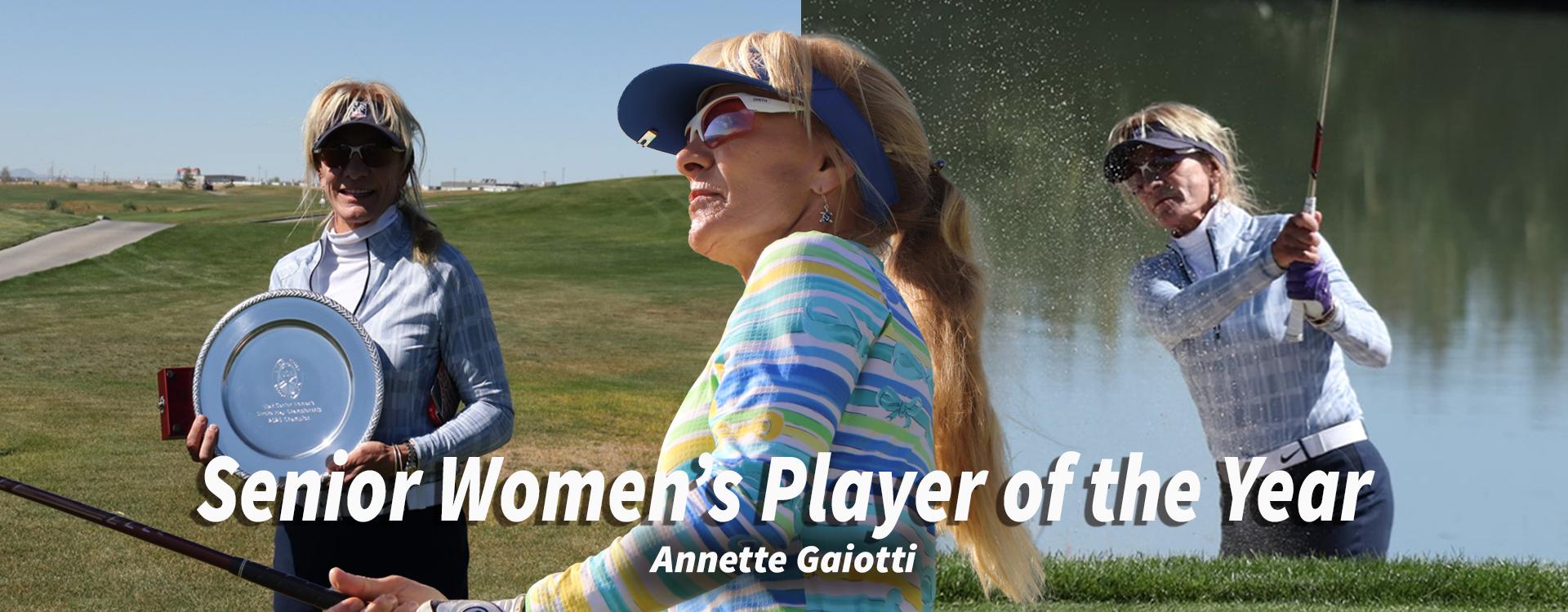 Senior Women's Player of the Year